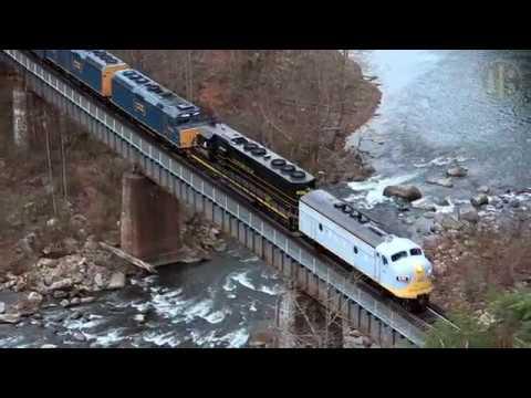 75th Anniversary Clinchfield Santa Train at Skagg's Hole