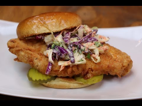 Fried Chicken Sandwich - How to Make the Best Fried Chicken Sandwich
