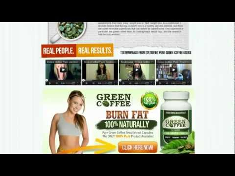 Green Coffee Beans Burn FAT, Without Diet or Excercise