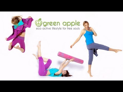 Behind the Scenes - Photoshoot for Green Apple Active Clothing