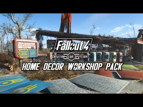 Creation Club Spotlight: Elianora's Home Decor Workshop Pack (Fallout 4)
