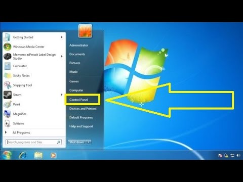 How to show or hide Control Panel item in Windows 7