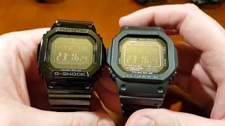 Casio G-Shock GW-M5610BB-1ER - rozpakowanie, prezentacja, porównanie i przymiarka