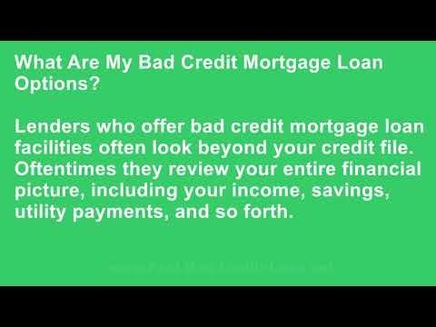 My Credit Score Is 620 Can I Apply for a Bad Credit Mortgage Loan? At fast-bad-credit-loan.net