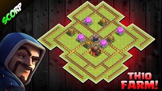 th10 dark elixir farming base 2019 Videos - 9tube tv