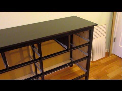 How to assemble an IKEA Dresser (part 2 of 3)
