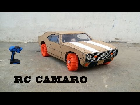 WOW! Super Rc  Camaro || DIY at Home || Chevrolet Camaro 1969 || How to make Electric Toy Car