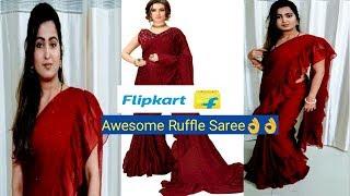 3a62b5c9b3 flipkart ruffle saree Videos - 9tube.tv
