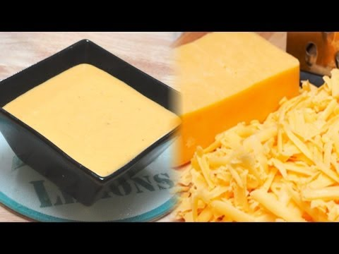 Homemade Creamy Cheese Sauce - Animal Fat Rennet Free by Bhavna