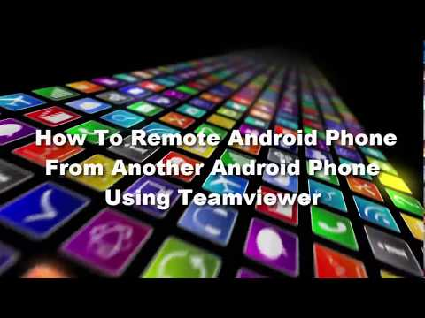 How To Remote Android Phone From Another Android Phone Using Teamviewer