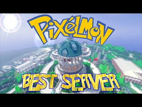 BEST MINECRAFT PIXELMON SERVER 2017 !!!