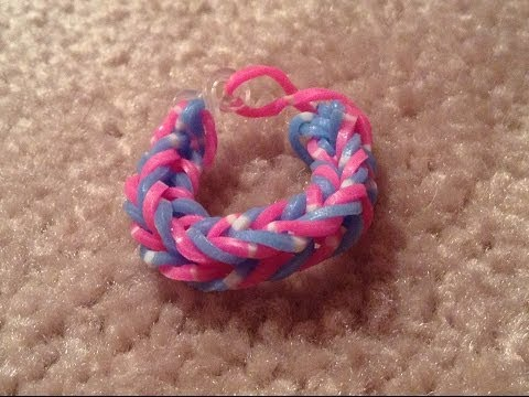 Rainbow Loom - Fishtail Bracelet/Ring (Easy)