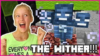 DESTROYING THE WITHER!