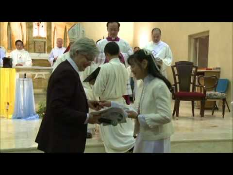 Sr Thuy-Linh's Final Profession - Magnificat _ welcome.wmv