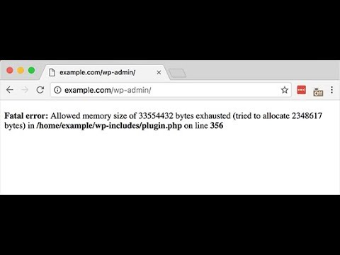 Solved: WordPress Allowed Memory Exhausted Error – Increase PHP Memory