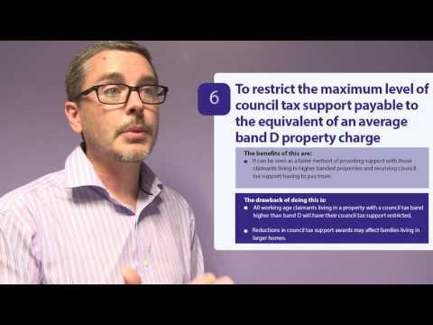 Council Tax Support scheme consultation   Option 6