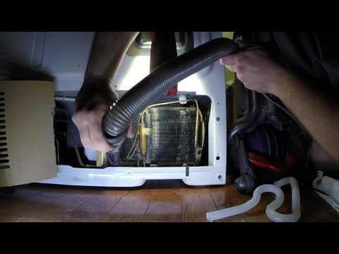 GE Fridge Condensor Coil Clean