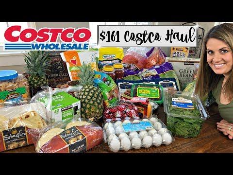 $161 COSTCO HAUL :: FAMILY OF 5 :: MAY 2018