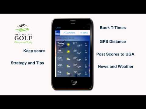 Salt Lake City Golf App