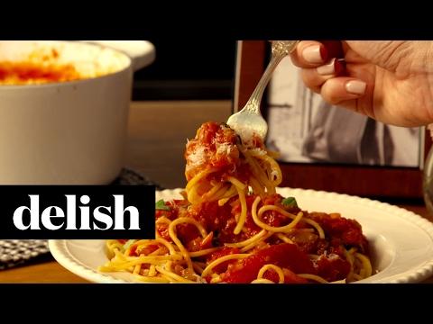 Audrey's Spaghetti | Delish