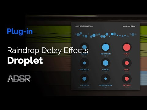 Sinevibes Droplet - Raindrop Delay Effects
