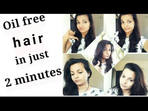 Get oil free hair instantly without shampoo|AlwaysPrettyUseful by PriyaChavaan channel