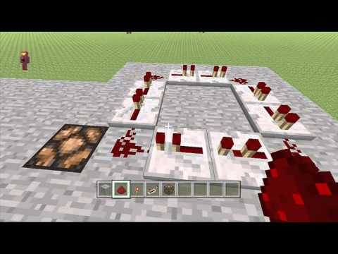 Minecraft XB360 - How To Make a Flickering Light