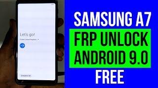 Unlock FRP Google Account Samsung Galaxy A9 A7 A8 2018 A920F