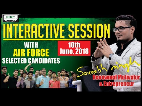 Interactive Session with AIR FORCE Selected Candidates