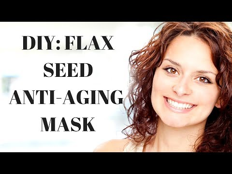 DIY 2-Ingredient Flaxseed Firming Tonic-Mask. Great Results.