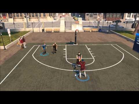 NBA 2K14 MY CAREER- THE PARK DOMINATION ( GAMEPLAY 2V2)