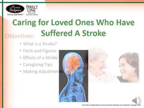 Caregiver Support: After-Stroke Care