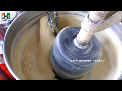 Medhu vada   How to Grind Urad Dal Vada Batter Using Grinder street food