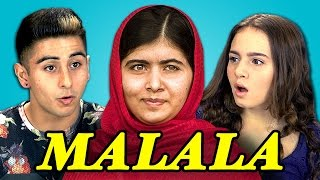 Teens React to Malala Yousafzai