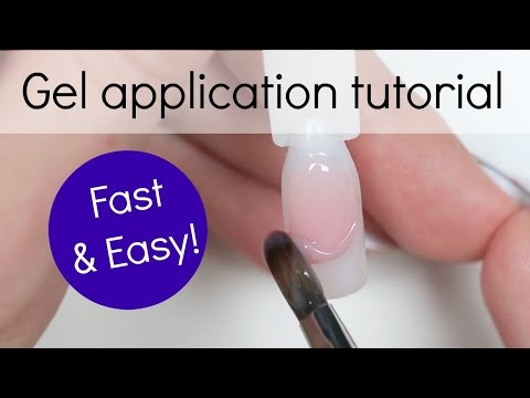 How to - Gel nail Application tutorial | Step by step