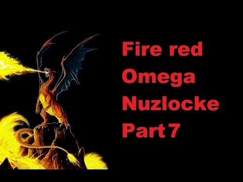 Lets Play Pokemon Fire Red Omega Nuzlocke Part 7: HM Cut!