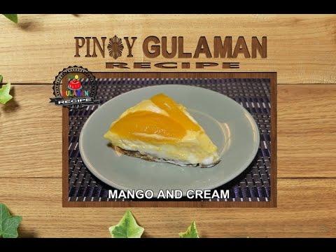 MANGO AND CREAM Pinoy Gulaman Recipe
