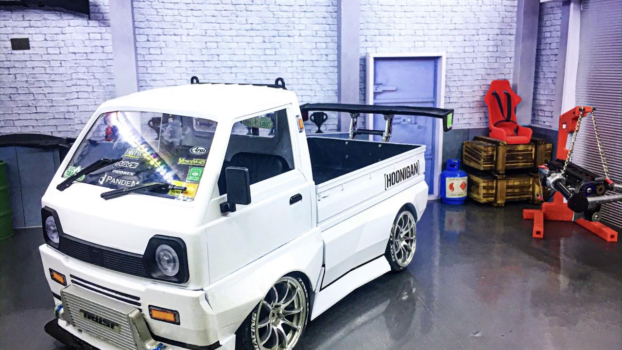 Wpl D12 Kei Truck Drift Build From Zero To DRIFT MACHINE..!! #WPL #D12 #HOONIGAN