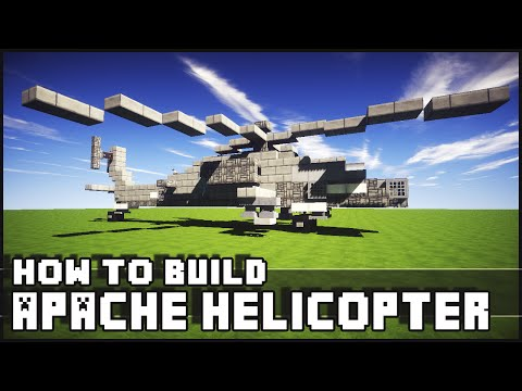 ► Minecraft : How to Make - Apache Helicopter