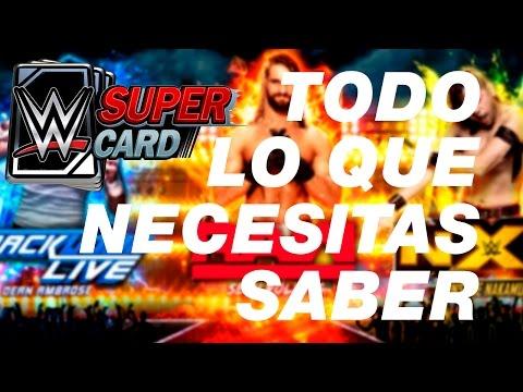 WWE SUPERCARD: TUTORIAL | TODO LO QUE NECESITAS SABER | CONSEJOS Y TRUCOS
