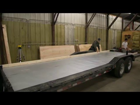 How to Build Floor for Tiny House on Trailer: Ana White Tiny House Build [Episode 2]