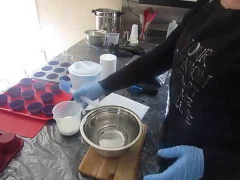 How I prepare my Lye water for SOAP MAKING