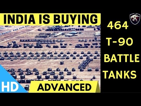 India is Buying 464 T90 Advanced Battle Tanks From Russia