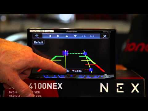 How to adjust the backup lines on the Pioneer NEX radios
