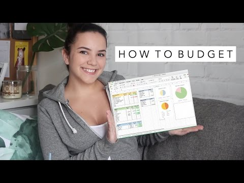 HOW TO BUDGET and Save Money As a Student or Young Adult | Laurie Lo