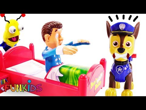 Don't Wake Daddy Romeo Mystery Game Clue with Paw Patrol