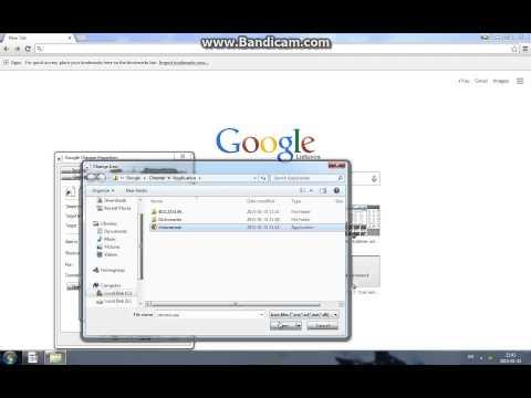How to fix Google Chrome missing new window taskbar icon (Windows 7)