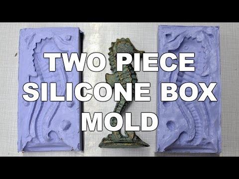 Two Piece Silicone Box Mold