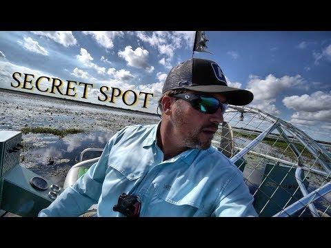 Finding the Secret Fishing Spot on Lake Okeechobee