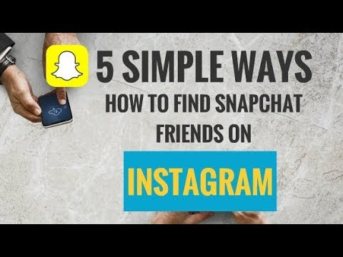 5 Simple Ways How to Find Snapchat Friends on Instagram